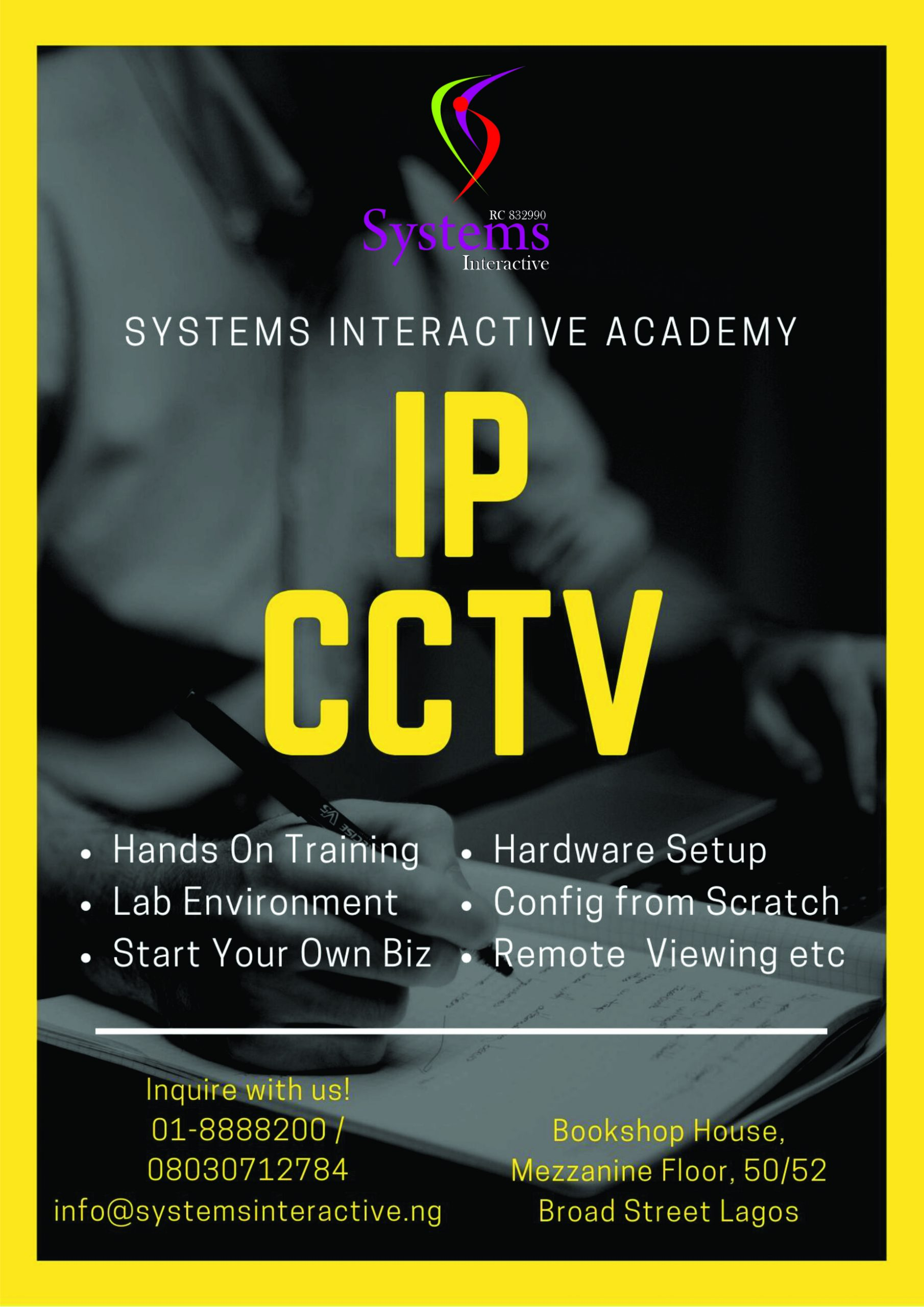 IP CCTV training in Lagos